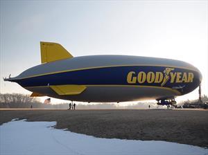 Goodyear tiene un nuevo dirigible