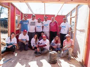FCA colaboró con la ONG Techo