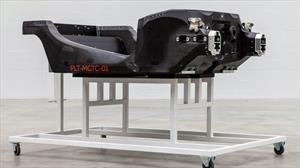 McLaren ya produce sus propios chasis de fibra de carbono