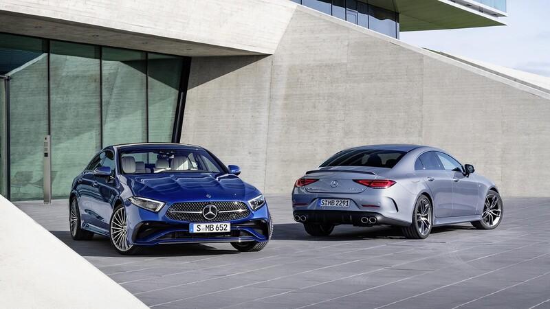 Mercedes-Benz CLS 2022, nuevo rostro y equipamiento