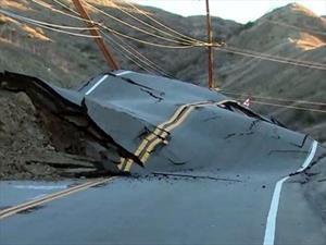 ¿Qué pasó con esta carretera?