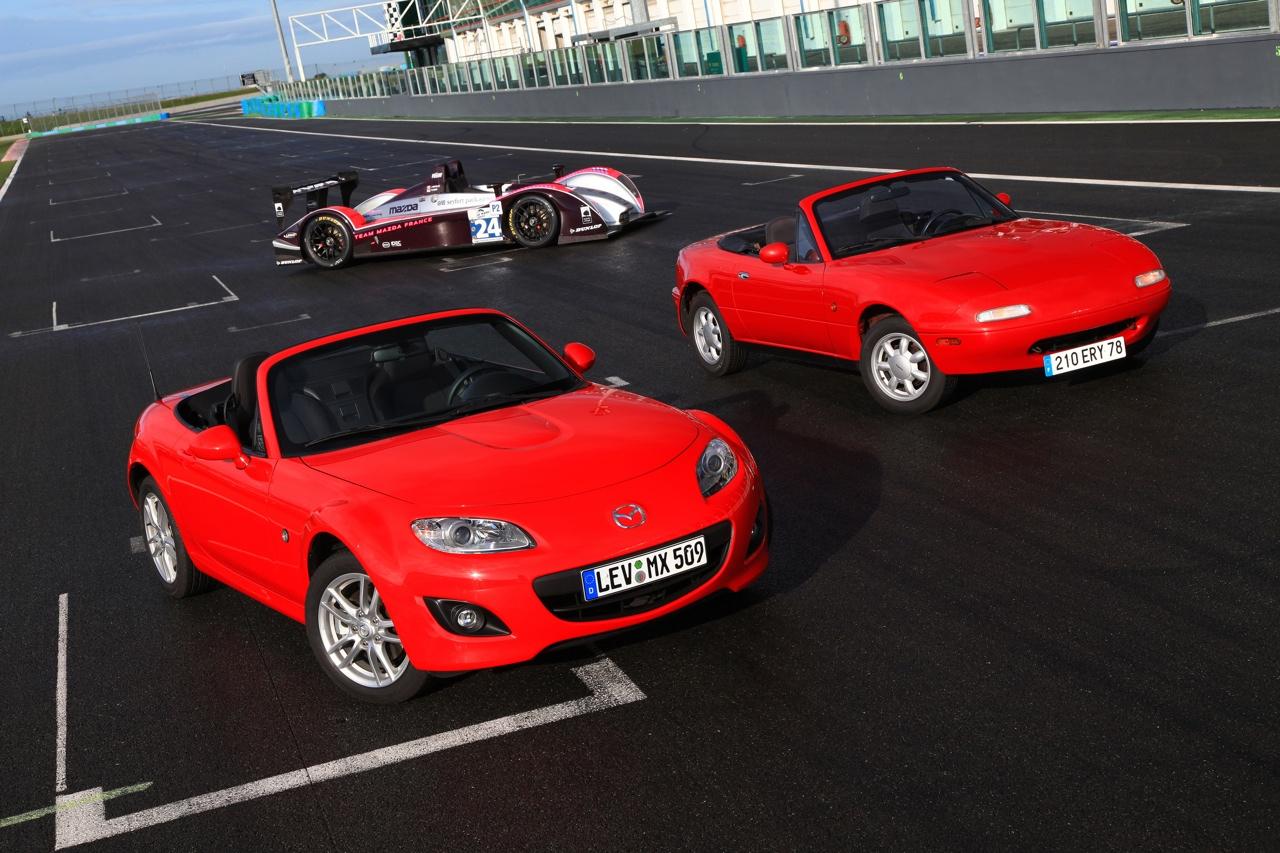 El Mazda MX5 festejará su vigésimo aniversario en Le Mans
