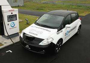 Nissan prepara una plataforma para vehículos eléctricos