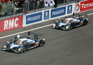 Se corona Peugeot en las 24 horas de Le Mans 2009