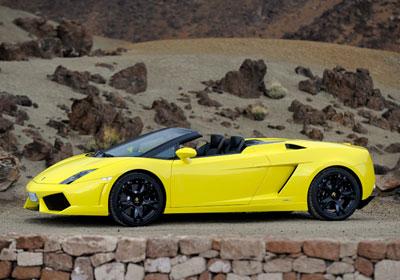 Lamborghini Gallardo LP 560-4 Spyder 2010: Soberbio