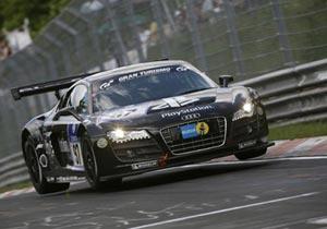 El Audi R8 LMS consigue un segundo lugar en las 24 Horas de Nurburgring
