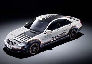 Mercedes Benz ESF Concept, en busca del auto más seguro del mundo