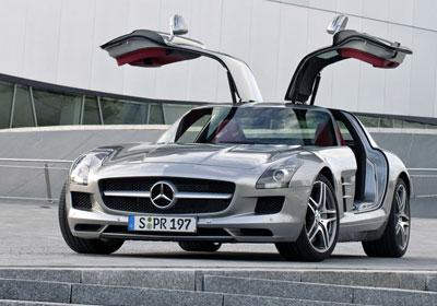Mercedes-Benz SLS AMG 2010: Renace el Alas de Gaviota