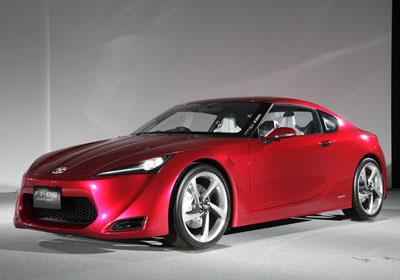 Toyota FT-86 Concept: ¿Renace el Supra?