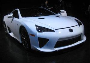 Lexus LF-A: el súper auto de la filial de lujo de Toyota