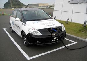 Nissan EV Test Car (Leaf), primer contacto