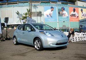 Debut del Nissan Leaf en Norteamérica con tour por 22 ciudades