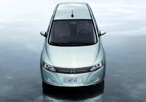 BYD e6 EV un familiar totalmente eléctrico