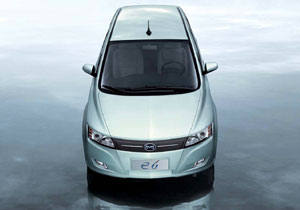 BYD e6 EV: un familiar totalmente eléctrico