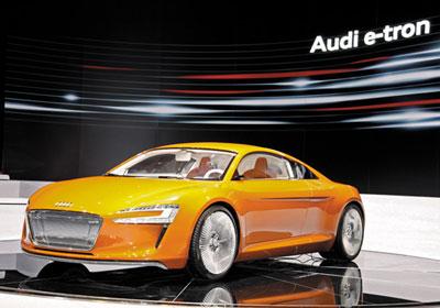 Audi e-tron: Deportivo eléctrico