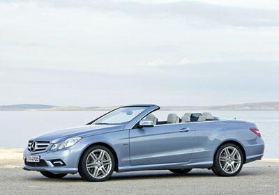 Mercedes-Benz Clase E Cabrio 2010: el cielo es el límite