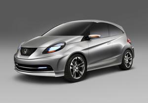 Honda Small Concept debuta en el Salón de Nueva Delhi