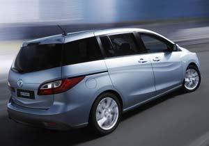 Nuevo Mazda 5: pensado para las familias