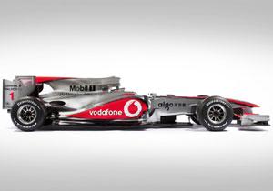 Se presenta el Fórmula 1 de McLaren MP4-25