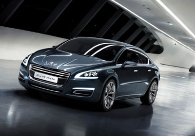 Peugeot 5 Concept Car : Vive el 508