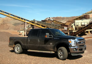 Ford F-250 Super Duty 2011, primer contacto