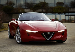 Alfa Romeo 2uettottanta por Pininfarina en el Salón De Ginebra