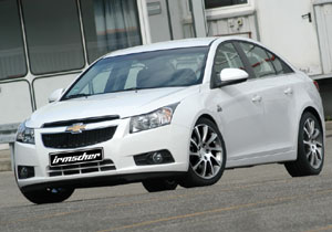 Chevrolet Cruze diesel por Irmscher