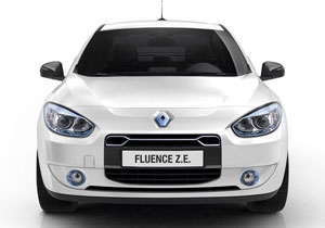 Renault presenta los modelos Fluence y Kangoo Z.E.