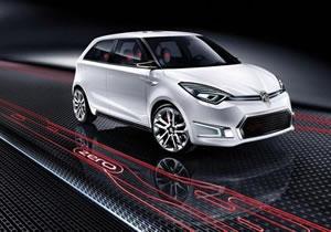MG Zero Concept debuta en Beijing 2010