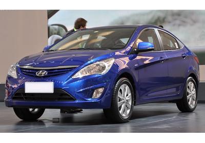 Hyundai Accent 2011 presentación en el Salón de Beijing