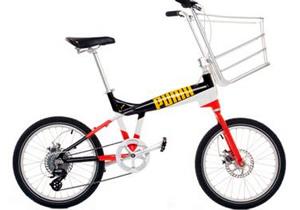 Una bicicleta desarrollada por PUMA y Biomega