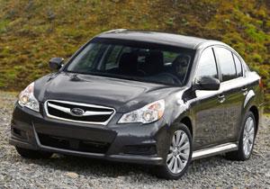 """Subaru Legacy 2010 recibe el premio de """"Auto familiar del año"""""""