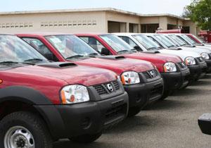 Nissan dona 30 camionetas a Haití