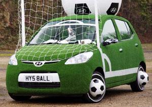 Hyundai i10 muestra su espíritu mundialista