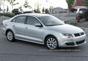 Volkswagen Vento 2011, fotos espía