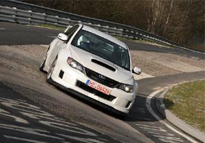 Subaru Impreza WRX STi Sedán visita el circuito de Nürburgring