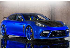 Tuning: Porsche Panamera Turbo por Mansory