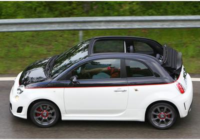Fiat 500C Abarth 2011: Descapotable rápido y furioso