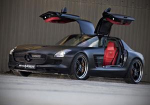 Mercedes Benz SLS AMG por Kicherer