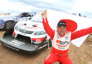 Nobuhiro Tajima vuelve a ganar en el ascenso de Pikes Peak