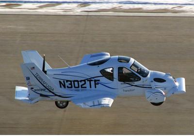 Terrafugia: Nace el auto volador
