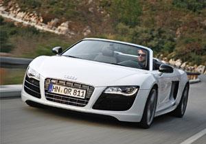 Audi R8 Spyder ahora con motor V8