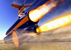 Bloodhound Supersonic Car, por el record de velocidad en tierra