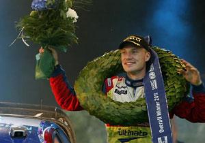 El finlandés Jari-Mati Latvala gana el rally de casa