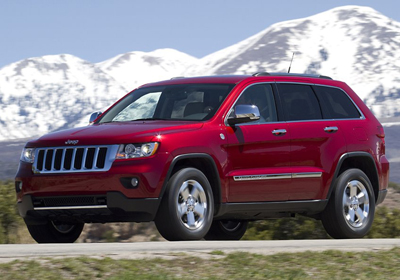 Jeep Grand Cherokee 2011 obtiene Top Safety Pick