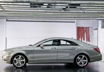 Mercedes-Benz CLS 2012: Verdadera obra de arte