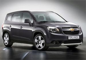 Nuevo Chevrolet Orlando para el Salón de París