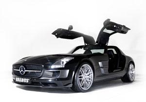 Brabus presenta su versión del Mercedes-Benz SLS AMG