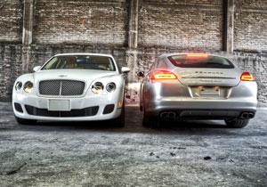 Bentley Continental Flying Spur Vs Porsche Panamera Turbo