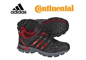 Adidas y Continental desarrollarán calzado deportivo